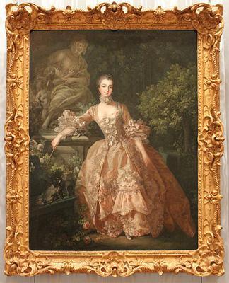 Francois Boucher, Madame de Pompadour, 1759