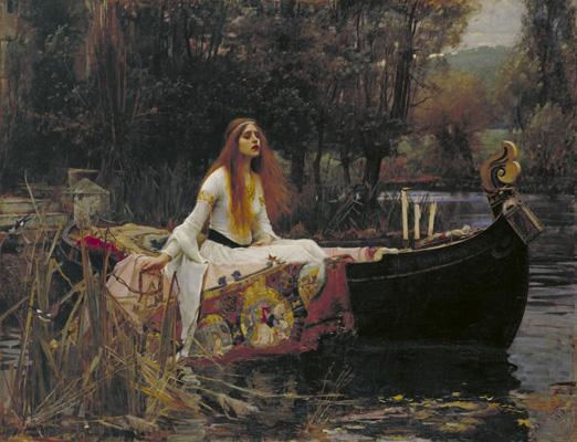 John William Waterhouse, The Lady of Shalott, 1888
