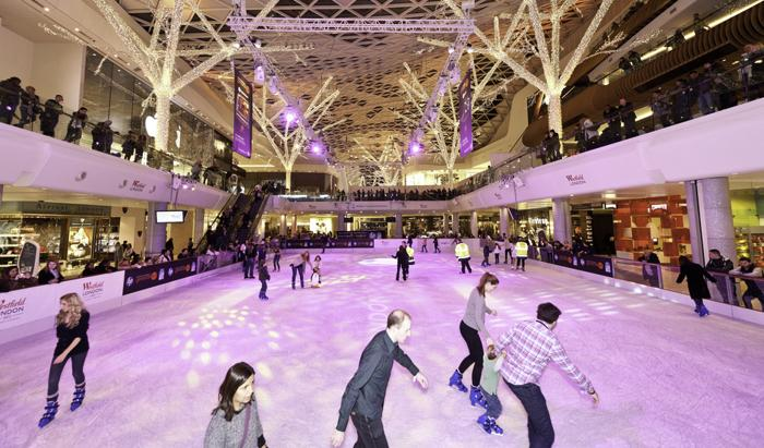 Ice Skating at Westfield