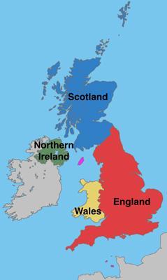 大不列颠及北爱尔兰联合王国