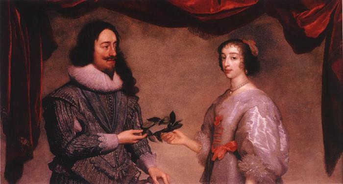查理一世和王后