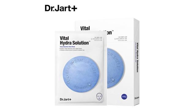 Dr.jart蓝色药丸面膜补水急救