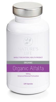 Natures Life Organic Alfalfa