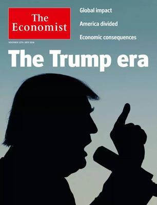 经济学人杂志封面《川普当选,开启一个不确定的时代》