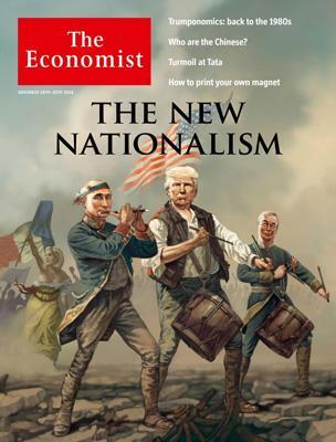 经济学人杂志封面《世界新民族主义的同流合污》