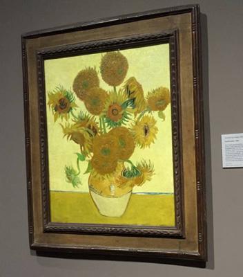 文森特·梵高的《向日葵》(1888年)