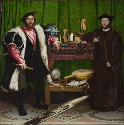 小汉斯·荷尔拜因的《使节》(1533年)