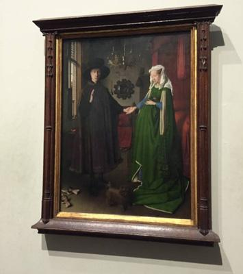 扬·凡·艾克的《阿尔诺芬尼夫妇像》(1434年)