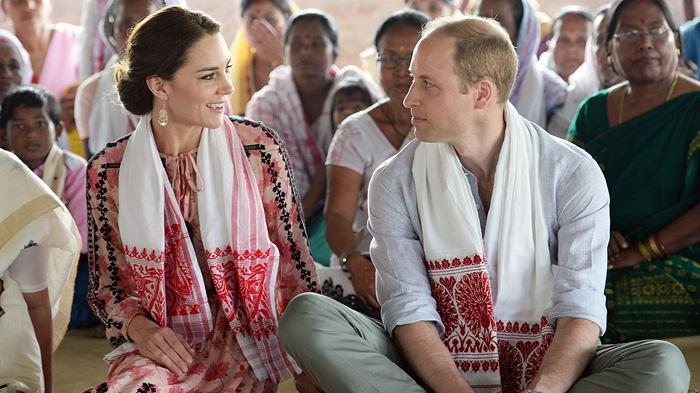 威廉王子夫妇访问印度