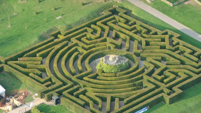 利兹城堡迷宫