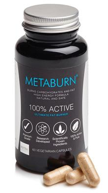 MetaBurn Fat Burner减脂胶囊