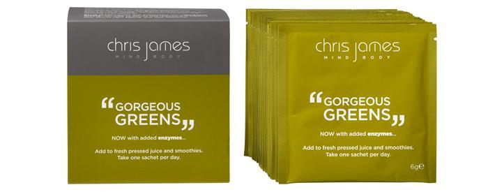 Chris James Gorgeous Greens