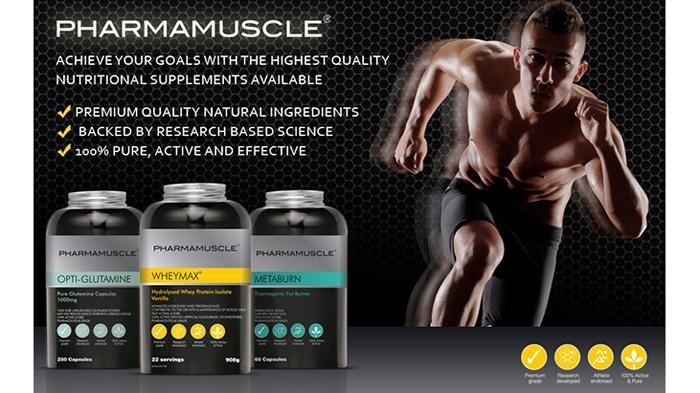 PharmaMuscle Sports Nutrition肌肉增长辅助产品