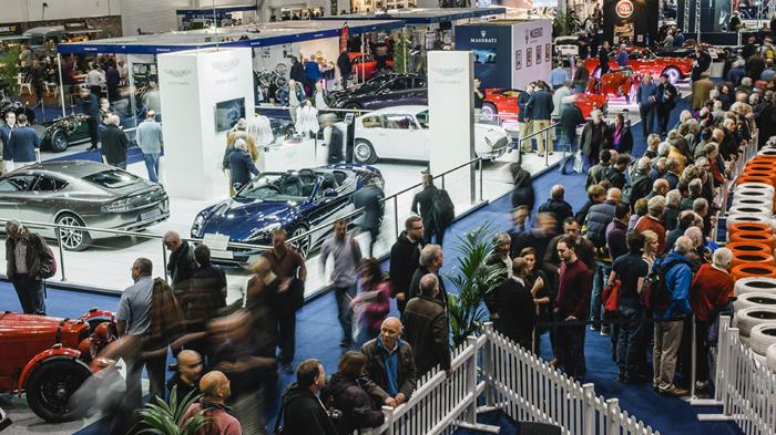The London Classic Car Show at ExCeL London