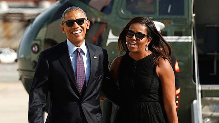 奥巴马卸任度假