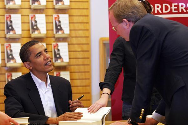 奥巴马出书