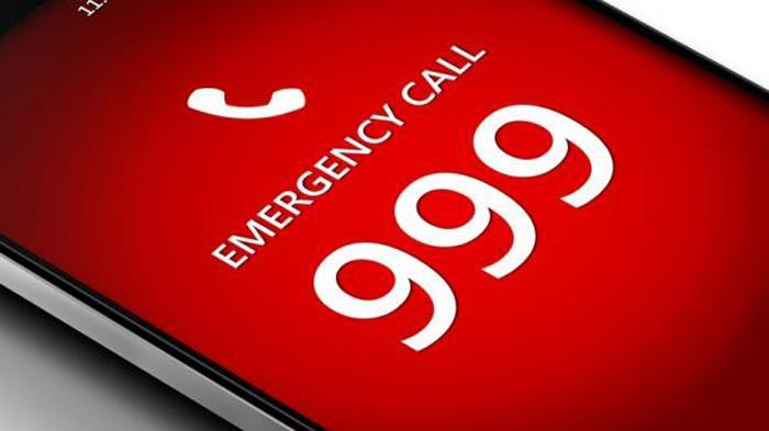 英国紧急电话