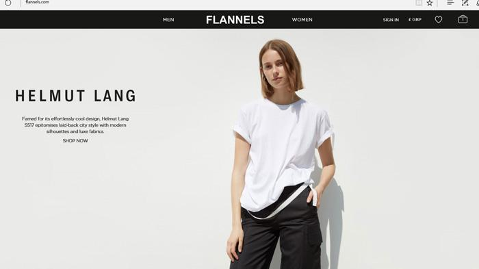 Flannels网站