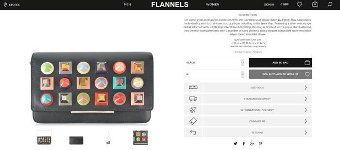 Flannels网站下单指南