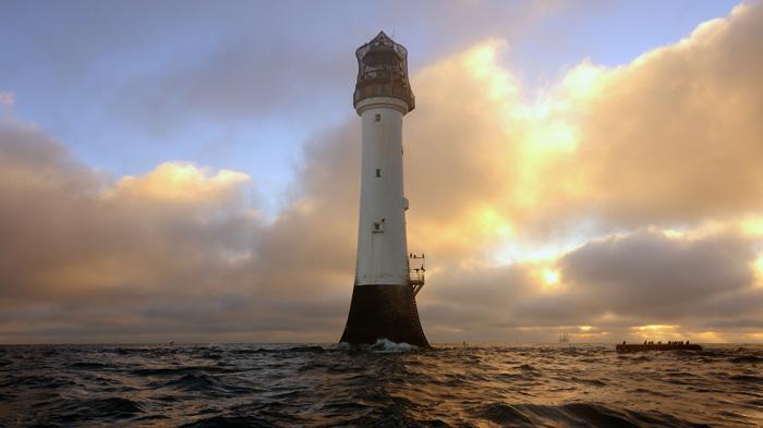 Bell Rock Lighthouse   贝尔礁灯塔