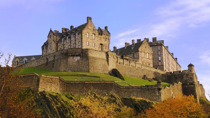 Edinburgh Castle   爱丁堡城堡