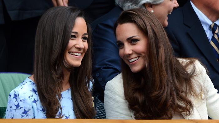 凯特王妃和妹妹