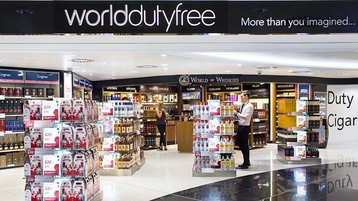 格拉斯哥国际机场免税店