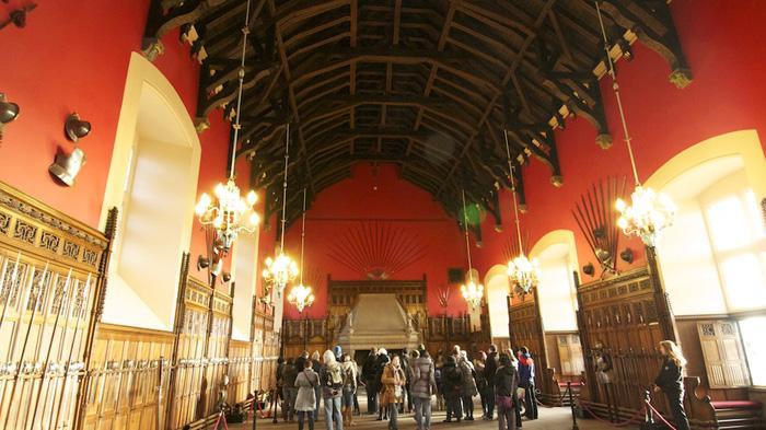 爱丁堡城堡的大礼堂(The Great Hall)
