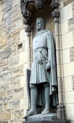 罗伯特一世的雕像