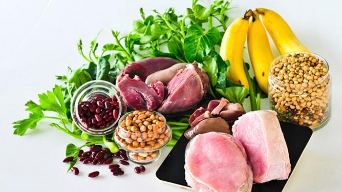 含有B族维生素的食物