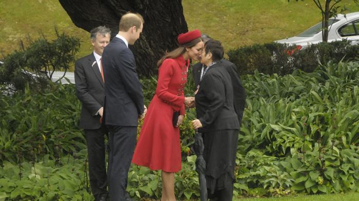 凯特王妃访问新西兰惠灵顿