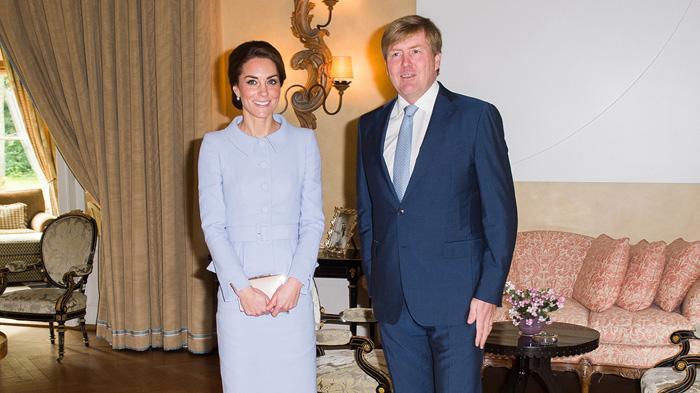凯特王妃访问荷兰