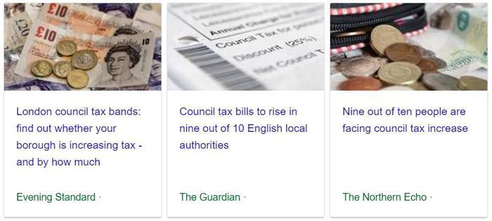市政税上涨