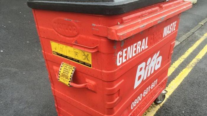 给垃圾桶开罚单