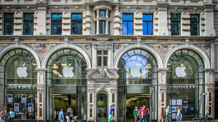 摄政街苹果店