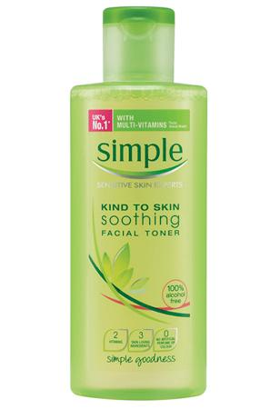 Simple Kind to Skin Soothing Facial Toner 清妍爽肤水