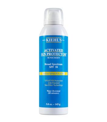 身体防晒喷雾 Activated Sun Protector Spray Lotion for Body SPF50
