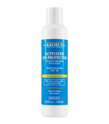 面部身体两用防晒乳液 Activated Sun Protector 100% Mineral Sunscreen
