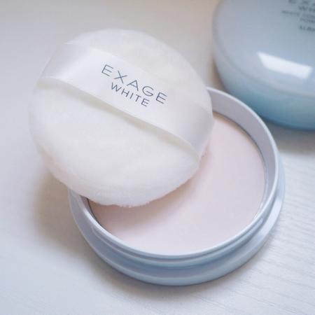 Albion Exage White Conditioning Powder(奥尔滨夜用美白粉)