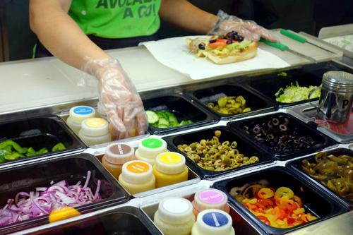 如何在Subway点餐