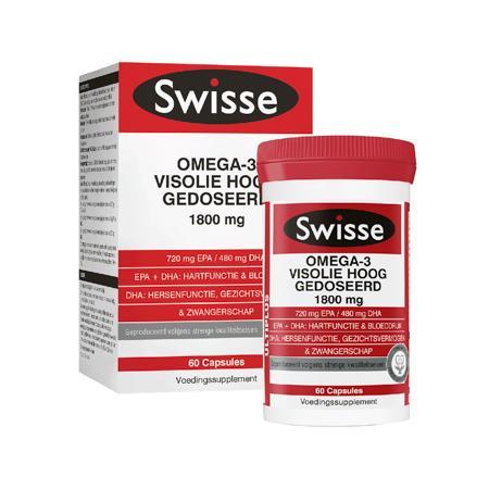 Swisse Ultiplus Maximum Strength EPA/DHA Omega-3 Fish Oil