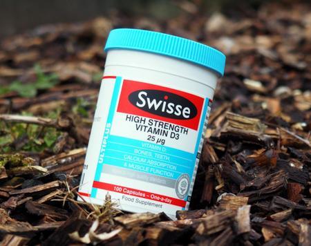 Swisse Ultiplus High Strength Vitamin D3 25μg