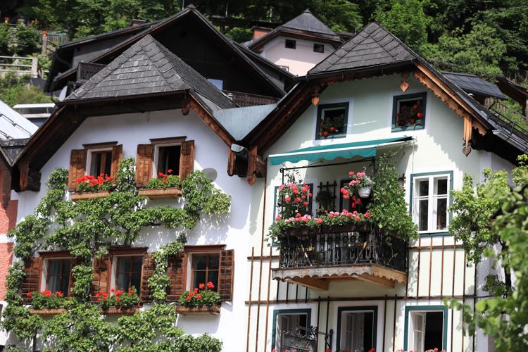 奥地利hallstatt哈尔斯塔特小镇旅游攻略
