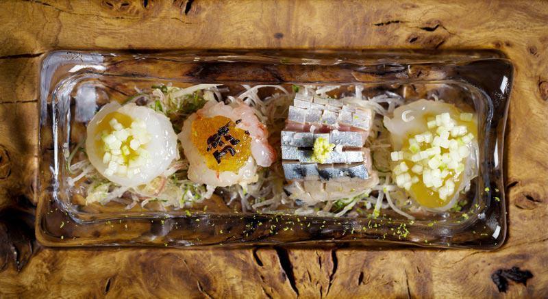 可以吃到抹茶千层蛋糕的日料店:Sosharu