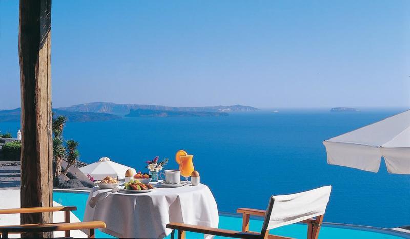 Perivolas Suites 酒店早餐