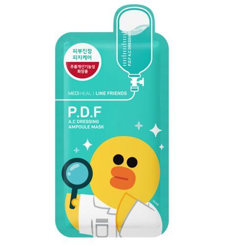 Mediheal line Friends Ampoule-PDF(美迪惠尔Line合作款—PDF舒缓面膜)