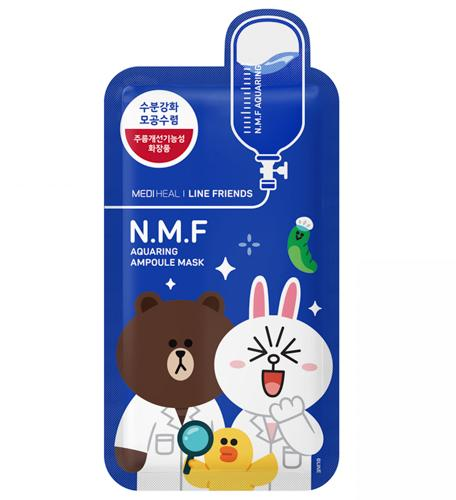 Mediheal line Friends Ampoule-NMF(美迪惠尔Line合作款-NMF水润保湿面膜)