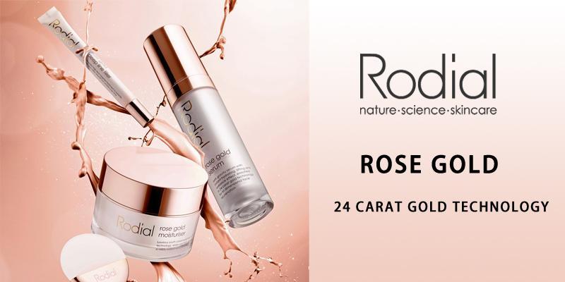 Rodial玫瑰黄金系列三大核心成分
