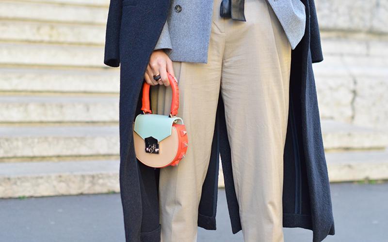 【SALAR】特别有设计感的圆形小包