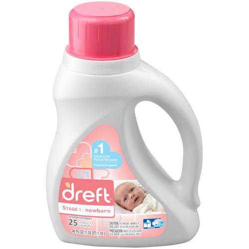 Dreft Stage 1: Newborn Hypoallergenic Liquid Baby Laundry
